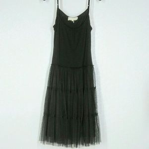 Anthro a'reve Dress Camisole Top Tiered Tule Skirt